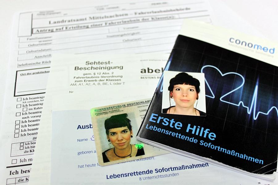 Fahrschule Sandig Freiberg Brand-Erbisdorf Sehtest Führerschein Antrag Passfoto biometrisch